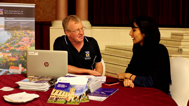 مصاحبه با نماینده دانشگاه وسترن استرالیا
