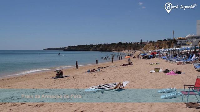Our Beach Inspector Introduces Praia Da Armação De Pêra